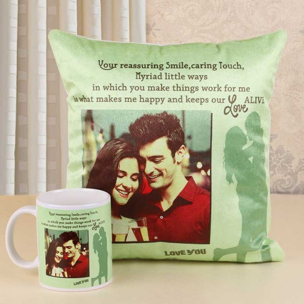 Mugs and Cushions