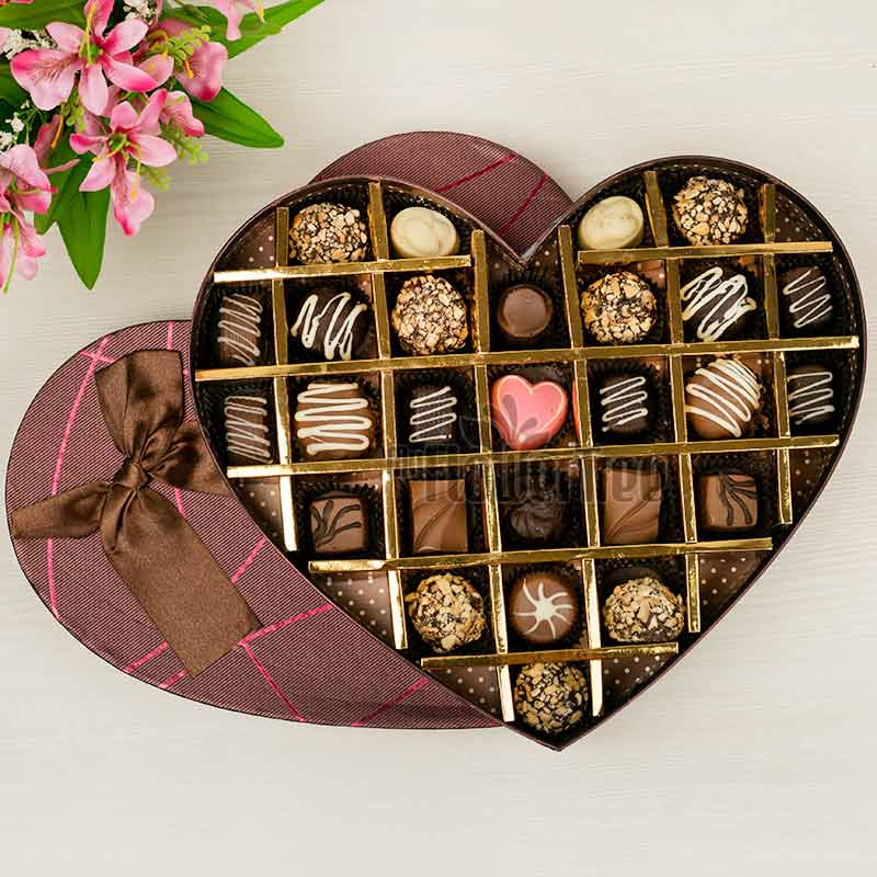 1 A Box Of Assorted Chocolates