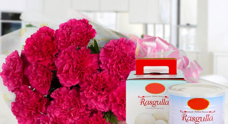 Carnations and Rasgullas