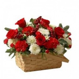 Basket of love and fragrance