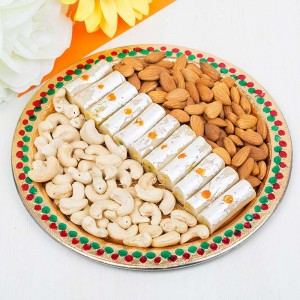 Sweets or Dry Fruits