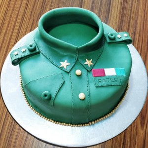 Army Themed Cake