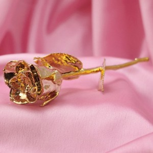 Gold-Plated Rose