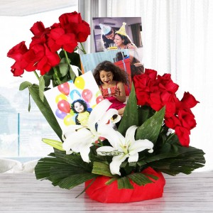 Personalized Flower Bouquet
