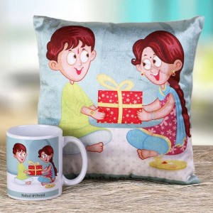 Personalized cushions and mugs