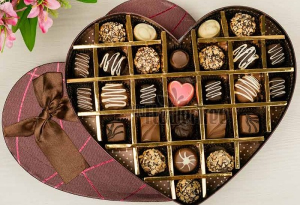 Chocolates for New Year