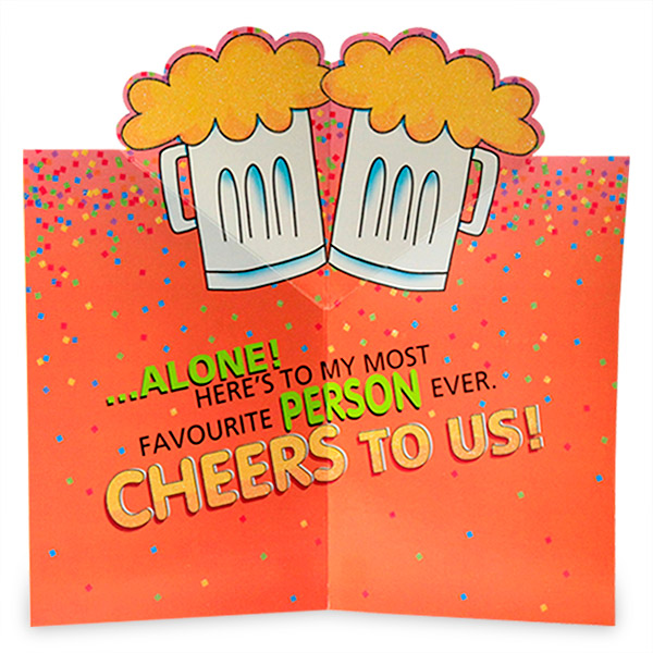 Cards with personalized messages